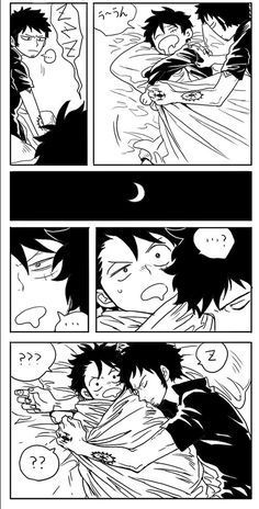 1 số Doujinshi trong one piece - Law x luffy - Omegaverse Yaoi One Piece Ep, One Piece Funny, One Piece Comic, One Piece Images, One Piece Fanart, One Piece Anime, Anime Crossover, Creepy Art, Naruto Shippuden Anime