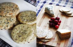 Sesame Seed & Fennel Seed Biscuits | The Bookery Cook