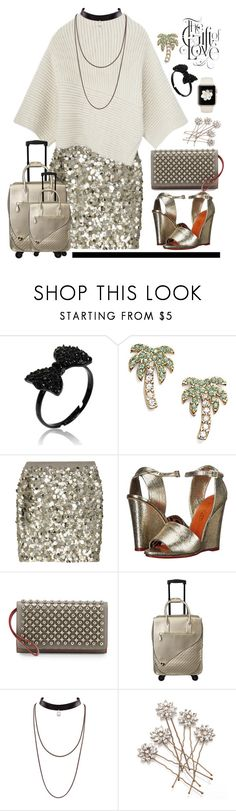 """23.10.16"" by malenafashion27 ❤ liked on Polyvore featuring Kate Spade, J.Crew, Charlotte Olympia and Christian Louboutin"
