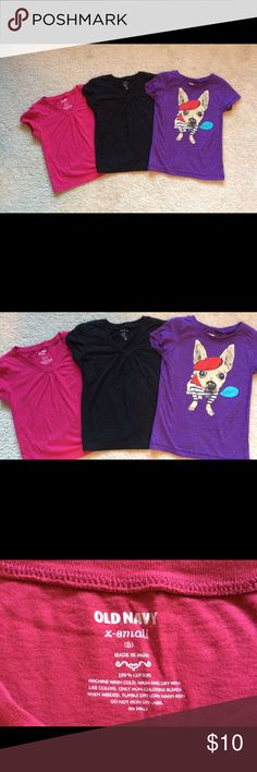 Bundle girls shirts. Bundle girls shirts size 5 lightly used. Good condition. Old Navy Shirts & Tops Blouses