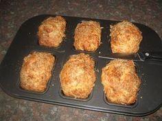 Aartappel en kaas ( potatobake) broodjies