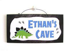 Custom Cave sign.