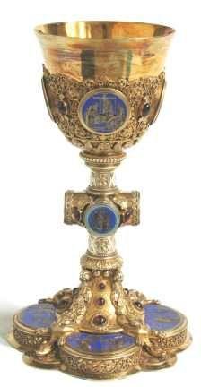 Calice biblique - Diocèse de Paris