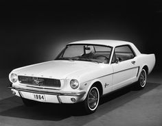My first car and the year I was born! I loved it! If you were born in 1964 - The Ford Motor Company launched the first generation of the Mustang that year.