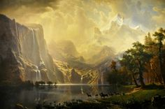 Bierstadt - Sierra Nevada In California