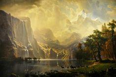 Bierstadt - Sierra Nevada In California