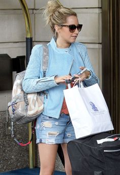 ALSO ASHLEY TISDALE LOVES THE CHANEL GRAFFITI BACKPACK