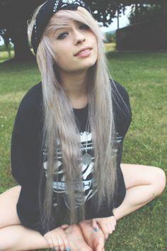 black scene hair tumblr - Google Search