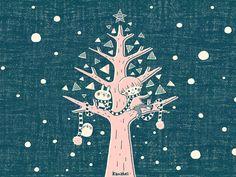 http://www.kanahei.com/gallery/雪とツリーとぼくたち2/