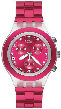 $121 #SampleBoard Pink Watch, Swatch Watches