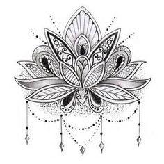 indian style black lotus tattoo - - Yahoo Image Search Results