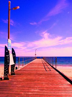 Normanville Jetty South Australia #dailyshoot Adelaide #leshaines  Couldnt quite get the exposure right with this shot but took a whole batch and was bracketting. Saturday afternoon on a deserted idylic beach at Normanville near Adelaide South Australia.