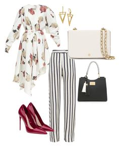 """""""A Little Mixing Up!!!"""" by la-harrell-styling-co on Polyvore featuring A.W.A.K.E., Nicholas, Miu Miu and Tory Burch"""