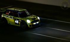 Sunday Screaming MINI IN THE DARK sees us take to the track with a cool Racing Cooper S