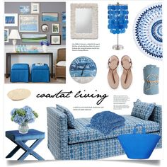 Coastal Living by marina-volaric on Polyvore featuring polyvore interior interiors interior design home home decor interior decorating Abbyson Living Calypso St. Barth Bedford Cottage Avanti New Growth Designs Zara Moss Studio