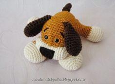 Crochet Puppy Amigurumi Patron Gratuit