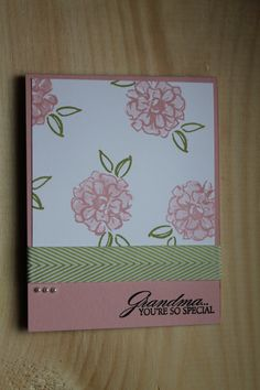 Grandmother Mothers Day Card by CreateByCait on Etsy