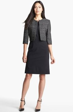 BOSS Black Jacket & Dress  available at #Nordstrom