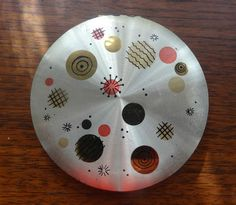 Atomic Living--Atomic design powder compact by Wadworth