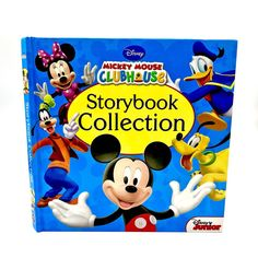 Mickey Mouse Clubhouse Storybook Collection 5 Stories Beautifully Illustrated for sale online Disney Mickey Mouse Clubhouse, Book Collection, My Ebay, Illustration, Books, Shop, Kids, Livros, Children