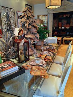 Holiday Table Setting, Mecox Gardens Dallas