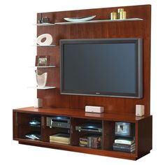 I pinned this Hamilton Entertainment Center from the Family Room Refresh event at Joss and Main!
