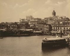 View of Galata and the Ottoman Imperial Bank, Istanbul