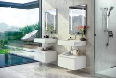 Unibaño-U2-Espejo para el baño con iluminacion