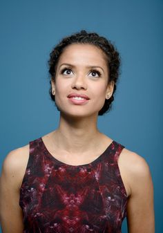 Gugu Mbatha-Raw Photos - Actress Gugu Mbatha Raw of 'Belle' poses at the Guess Portrait Studio during 2013 Toronto International Film Festival on September 9, 2013 in Toronto, Canada. - 'Belle' Portraits in Toronto