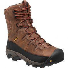 1013256 KEEN Men's Minot Insulated Safety Boots - Cascade Brown www.bootbay.com