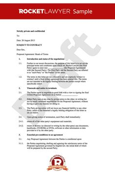 Box  Extracts Of A General Memorandum Of Understanding Between