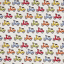 Buy John Lewis Scooters Cotton Poplin Fabric Online at johnlewis.com