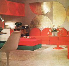 Living Rooms 1972 | Gail Thomas | Flickr