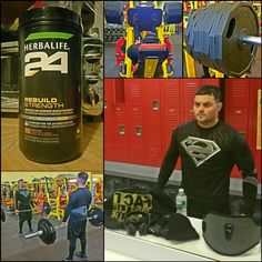 ...definitely felt like Superman today at @retroholmespa with my brother @mrcapcom - don't skip out on your lower half people, leg training has many benefits that go beyond aesthetics.  #Post2Motivate #FocusedNutrition #Operation_iAmHustle