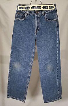 """Boys / Young Men Old Navy Sz 12 Slim Blue Denim Jeans 24"""" x 25""""  #OldNavy #SlimSkinny #Everyday"""