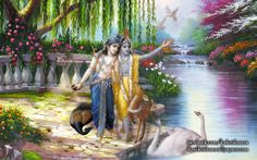 To view Krishna Balaram wallpapers in difference sizes visit - http://harekrishnawallpapers.com/krishna-balaram-artist-wallpaper-003/