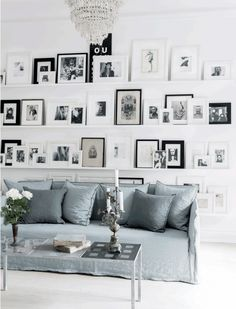 See more images from ledge gallery walls (and why your space needs one)! on domino.com