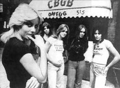 My Mom's good friend saw them there at CBGB's back in 1975....I am so jealous!
