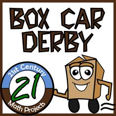 Box Car Derby -- A hands-On STEM Project idea that integrates solving equation, physics and engineering!
