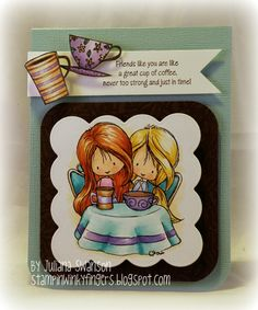 Stampin with Inky Fingers: Coffee Blog Hop #NationalCoffeeDay #CoffeeLoversBlogHop #TiddlyInks #Rubbernecker