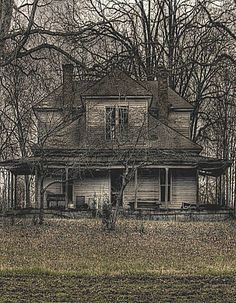 Old Farm House in country