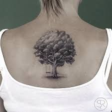 Image result for tiny oak tree tattoo