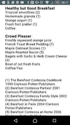 Breakfast menu French Toast Bread Pudding, French Bread French Toast, Breakfast Menu, Best Breakfast, Oatmeal Scones, Roasted Bacon, Orange Yogurt, Freshly Squeezed Orange Juice, Fresh Fruit
