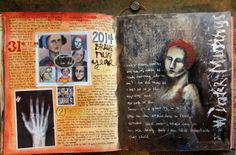 Journal by Judy Wise -  I love the transition to a new year here