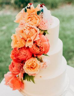 Pantone colour of the year Living Coral, Living Coral Wedding, Living Coral wedding cake, wedding planner Surrey, wedding planner London Wedge Wedding Shoes, Green Wedding Shoes, Garden Wedding, Fall Wedding, Wedding Ideas, Wedding Stage, Wedding Blog, Wedding Planner, Orange Wedding Themes
