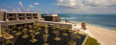 If you love the beach, enjoy the beauty of Cancun, Mexico, in a beautiful hotel.