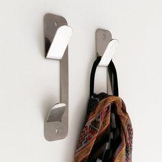 Muett Percheros de acero inoxidable ideales para el baño, la cocina y la entrada de tu casa. Sheet Metal Fabrication, Steel Art, Iron Art, Metal Shelves, Metal Projects, Metal Walls, Tool Design, Metals, Metal Working