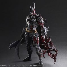 This Two-Face Batman Play Arts Figure Is The Juiciest