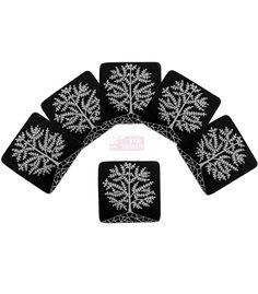 Black & White Warli art -handpainted coasters www.indisplash.com Tea Coaster, Madhubani Art, Wooden Coasters, Black Paper, Painting On Wood, Paper Art, Hand Painted, Paintings, India