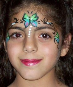 face painting   panda 6 kid face painting 7 face painting butterfly princess